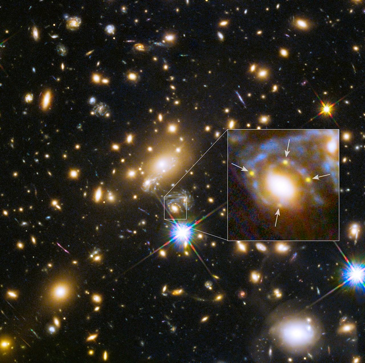 exploding supernova hubble telescope - photo #22