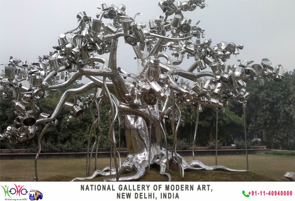 NATIONAL GALLERY OF MODERN ART DELHI INDIA