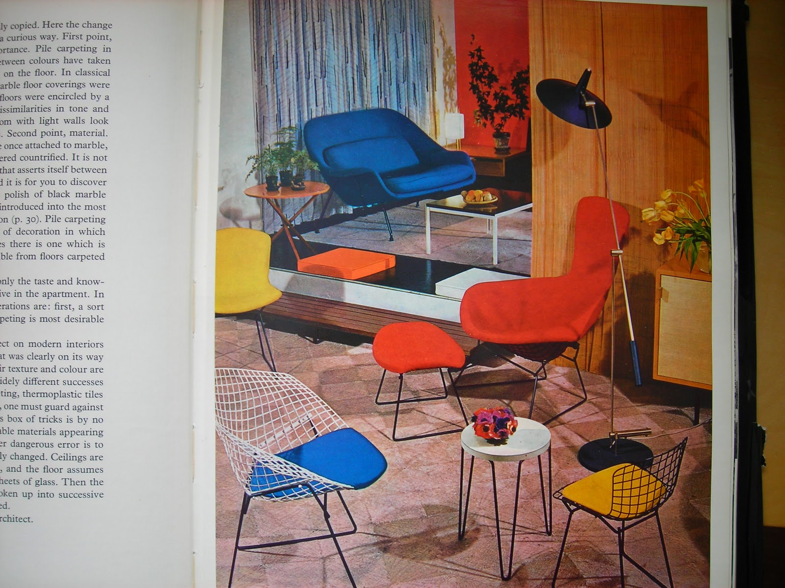 My 3 Etsy Shops: 50s...60s...70s Interior Design Reading