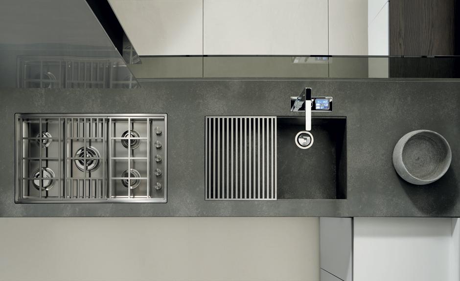 La expresividad de la cocina formas geomtricas que hacen