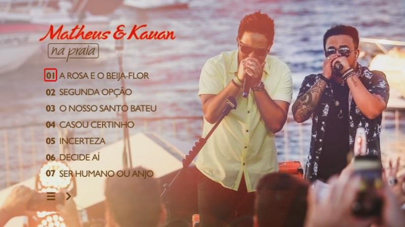 CLICK AQUI  Matheus & Kauan Na Praia DVD-R 2