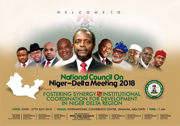 As Abia Hosts 3rd National Council on Niger Delta