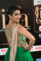 Manjusha in Beautiful Sleeveless Green Anarkali dress at IIFA Utsavam Awards 53.JPG