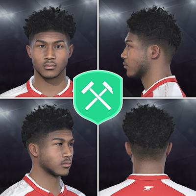 PES 2018 Faces Ainsley Maitland-Niles by Volun