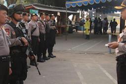 Amankan Pilgub Jatim, Puluhan Anggota Polres Gresik Disebar Di Pulau Bawean