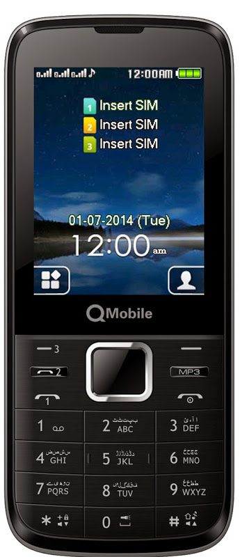 QMOBILE R500 MT6260 Flash File 3 Sim 100% Ok Free Download
