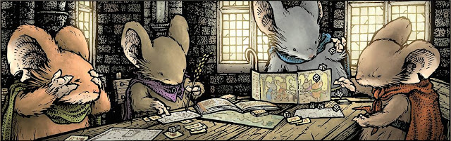 Mouse Guard playing Mouse Guard