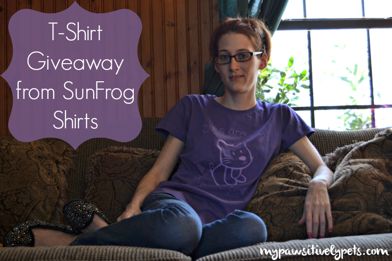 Cat Shirt Review and Giveaway from SunFrogShirts.com