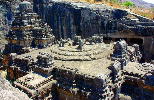 Kailasa Temple and Ellora Caves