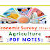 PDF Notes on Economic Survey Agriculture perspective-2016-17