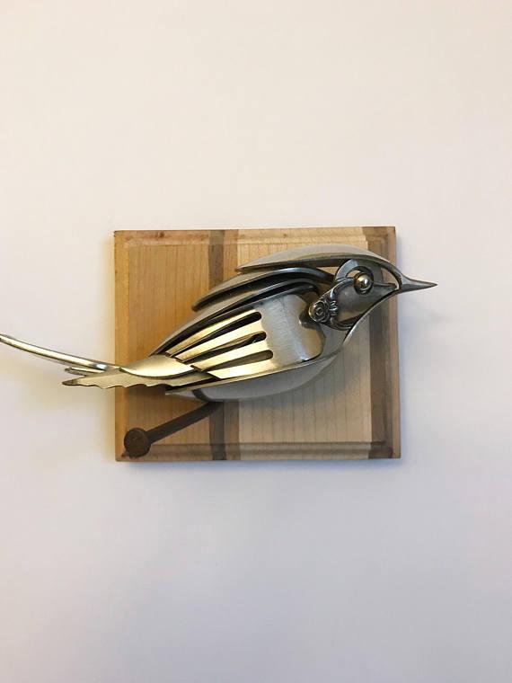 Esculturas de materiales reciclados