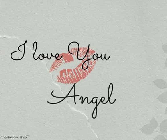 good morning angel kiss