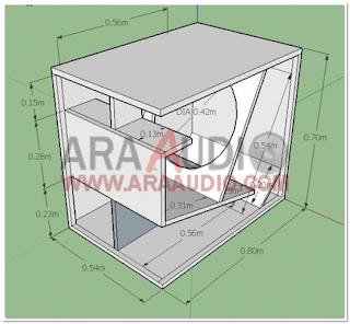 Skema Box Subbass 18 inch
