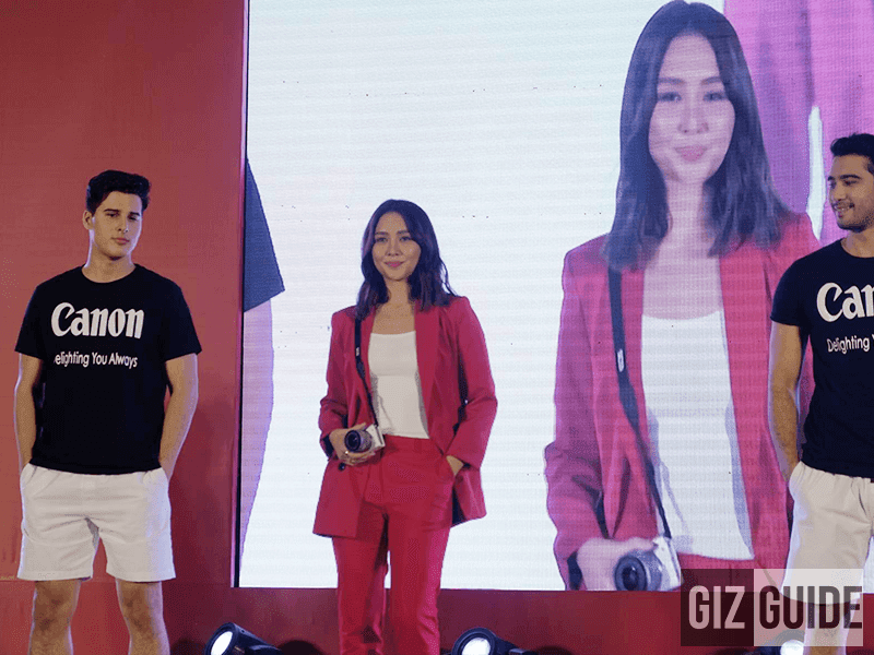 The beautiful Kathryn Bernardo is the newest face of Canon Philippines