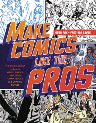 Make Comics LIke the Pros book cover