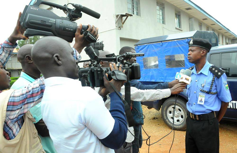 policeman kill women funeral edo