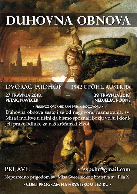 Duhovna obnova (27.-29. 4.)