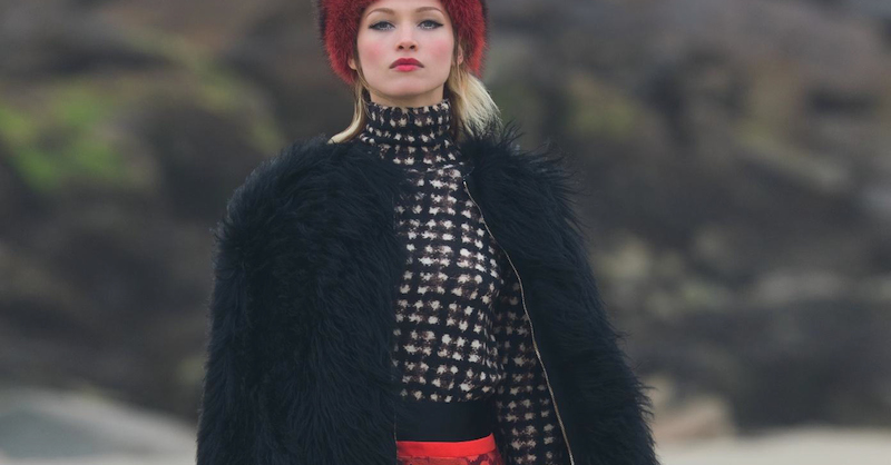 hana jirickova by hans feurer for numéro #168 november 2015