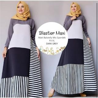 Jual Baju Busana Muslim Dress Blaster Maxi