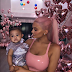 Kylie Jenner stuns in pink latex dress as she cozies up to daughter, Stormi