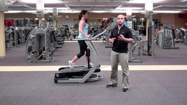 Long-term treadclimber workouts