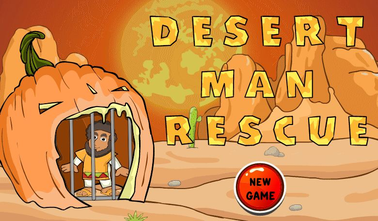 Play Desert Man Rescue
