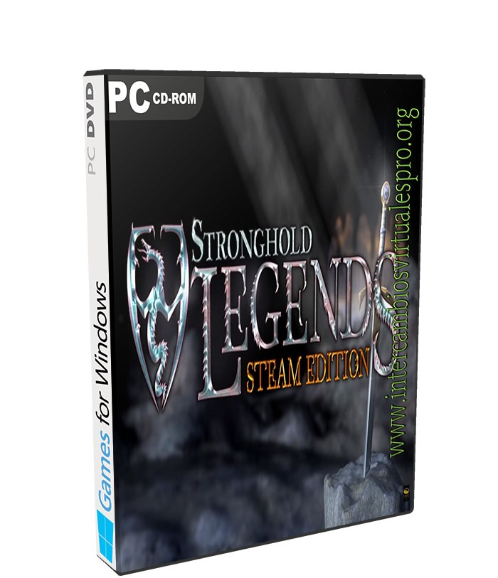 Stronghold Legends: Steam Edition poster box cover