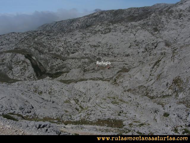 Mirador de Ordiales y Cotalba: Camino al refugio de Vegarredonda desde Ordiales