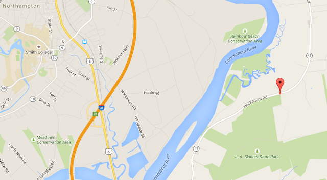 google map highway 91 hockanum road northampton and south hadley ma