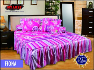 sprei rumbai my love fiona