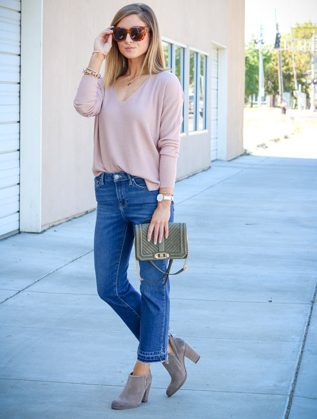 nordstrom anniversary sale 2017 sweater jeans booties