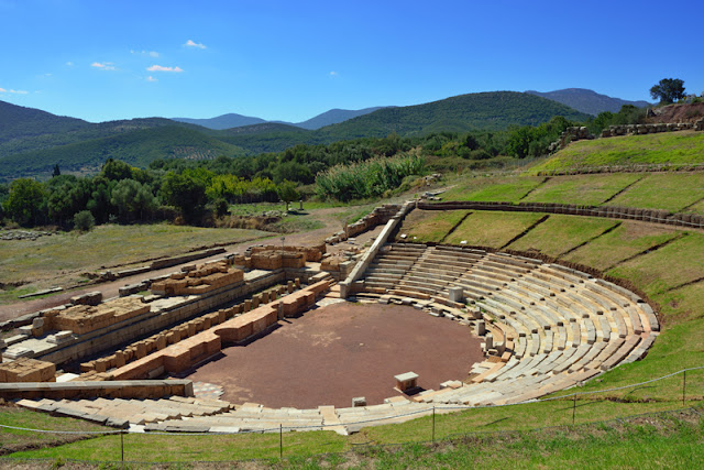 Ancient Greek theatres used moveable stages more than 2000 years ago