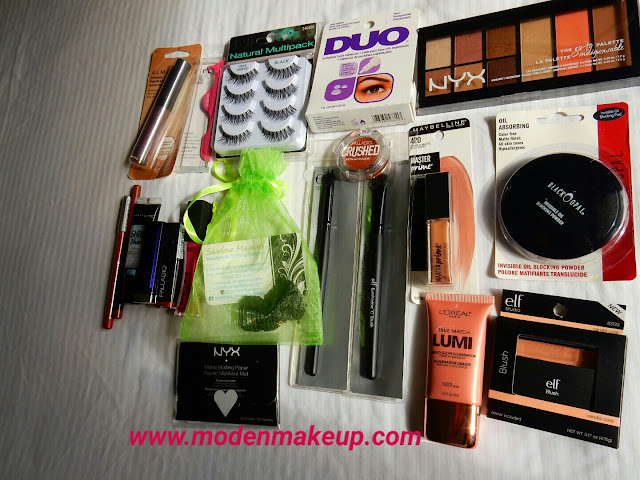 Team Moden 200k Views Giveaway Prize B - www.modenmakeup.com
