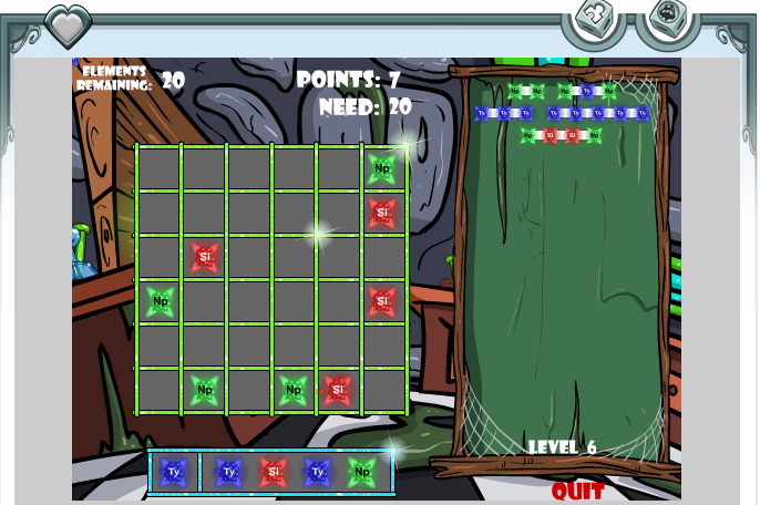 Bees don't care about me: How Neopets minigames work for a