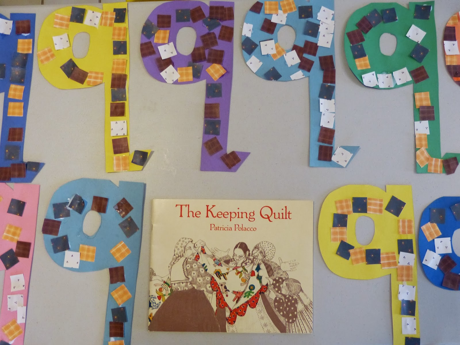 Q is for queen, quilts and quarters