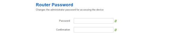 OpenWRT - ustawianie hasła do routera