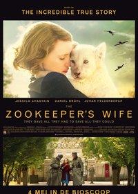 The Zookeeper's Wife (2017) [720p Latino] [Drama]