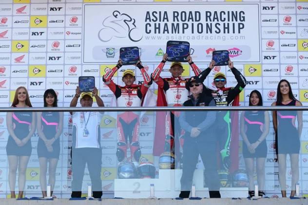 Rheza Danica Juara Race 1 ARRC AP250 Seri Australia, Pembalap Indonesia Kuasai Podium