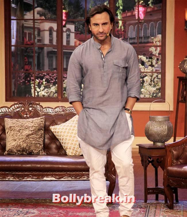 Saif Ali Khan, Saif ali khan on Comedy nights with Kapil