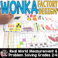 Real world math project that can be used as a fun activity during Wonka Week - perfect for the end of the year!