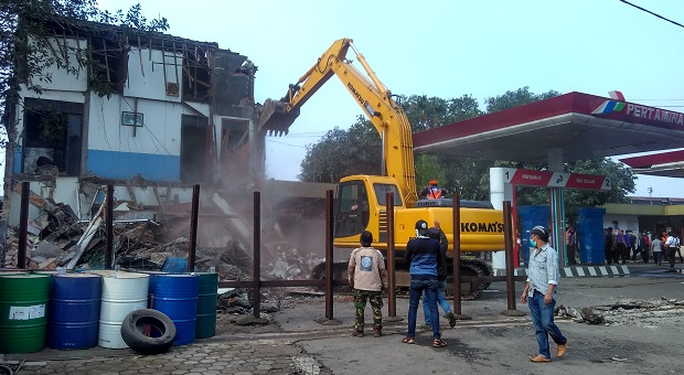 Eksekusi SPBU di Kebon Kawung oleh PT KAI Diduga Melawan Hukum