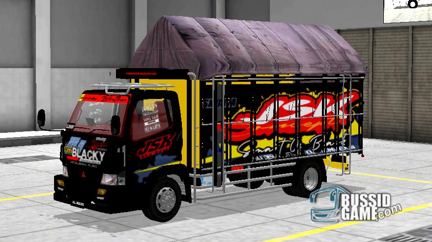 Mod Truck Canter Minimalis By Hellomans Gudang Livery Skin Dan