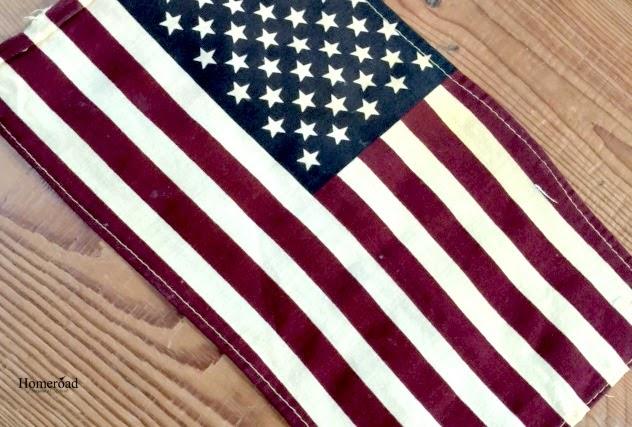 Memorial Day Flag Pillows www.homeroad.net