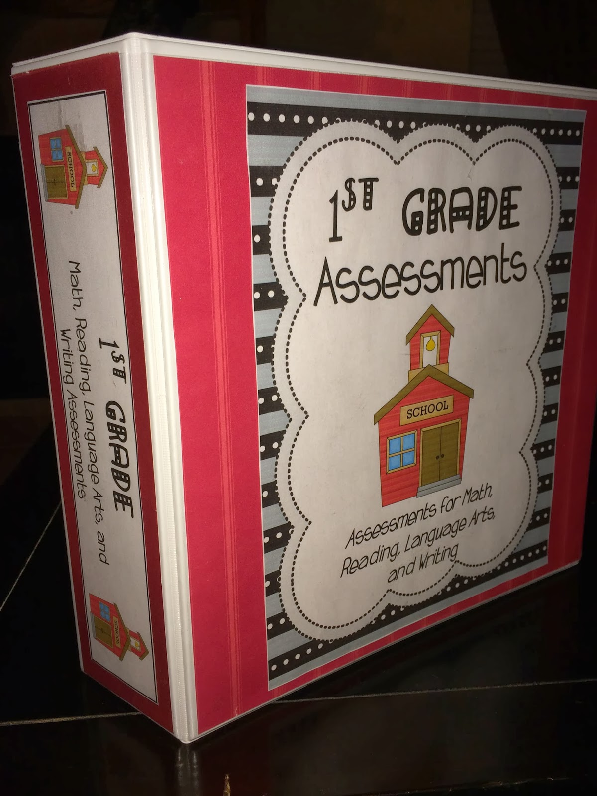 Teaching With Terhune First Grade Report Card Assessments