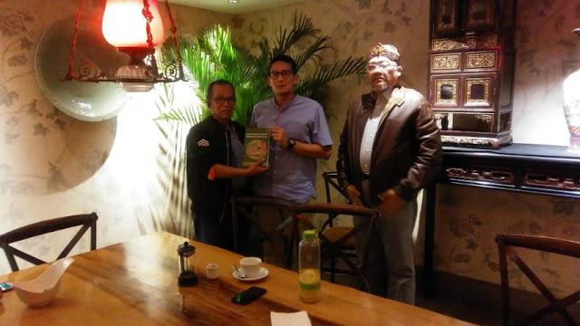 MS Kaban Bertemu Sandiaga, Sinyal PBB Dukung Prabowo-Sandi?