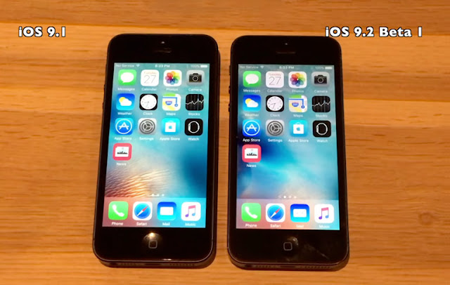 iOS 9.2 beta 1 vs iOS 9.1: Performance comparison on iPhone 4s, 5 and 5s [video]