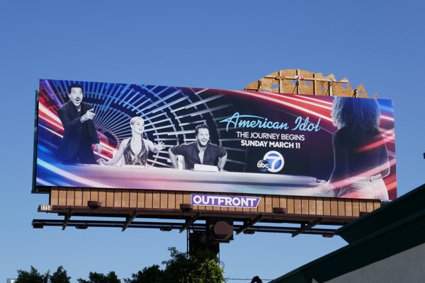 American Idol season 16 ABC revival billboard