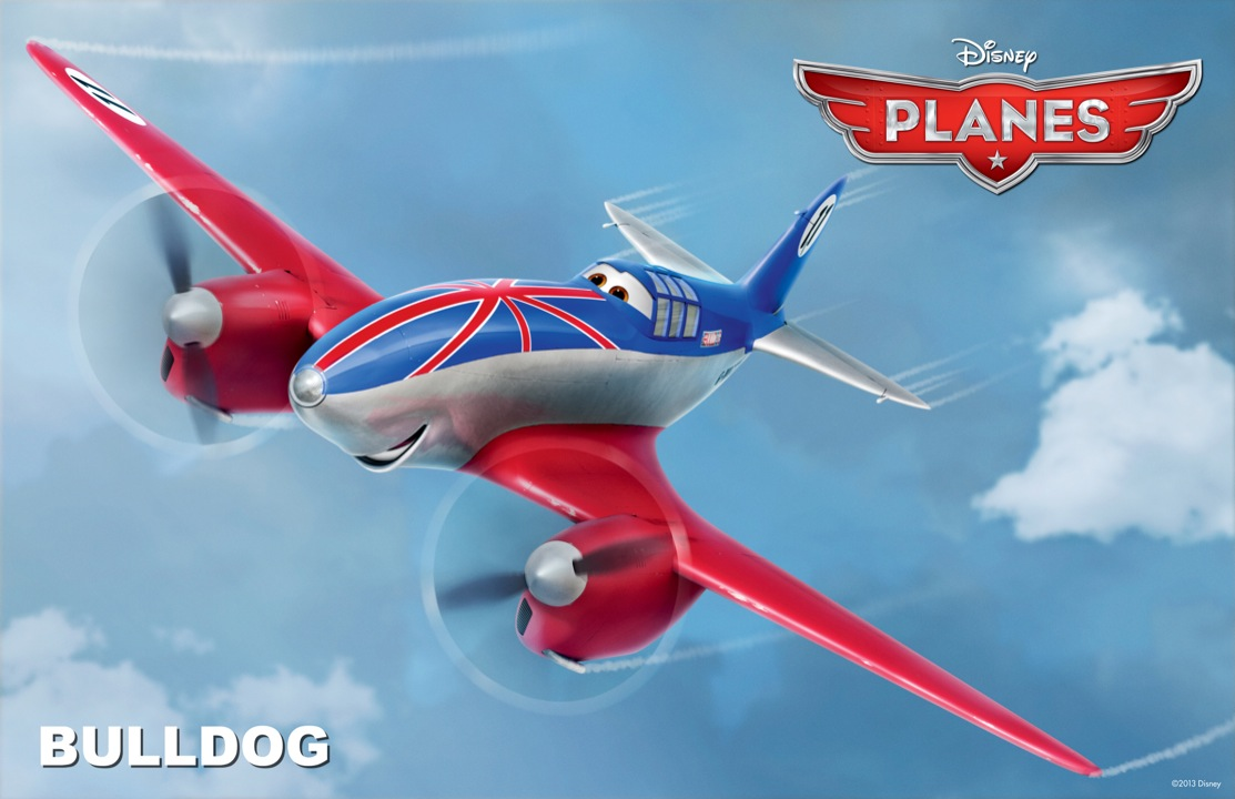 Trailer and Character Posters of Planes : Teaser Trailer