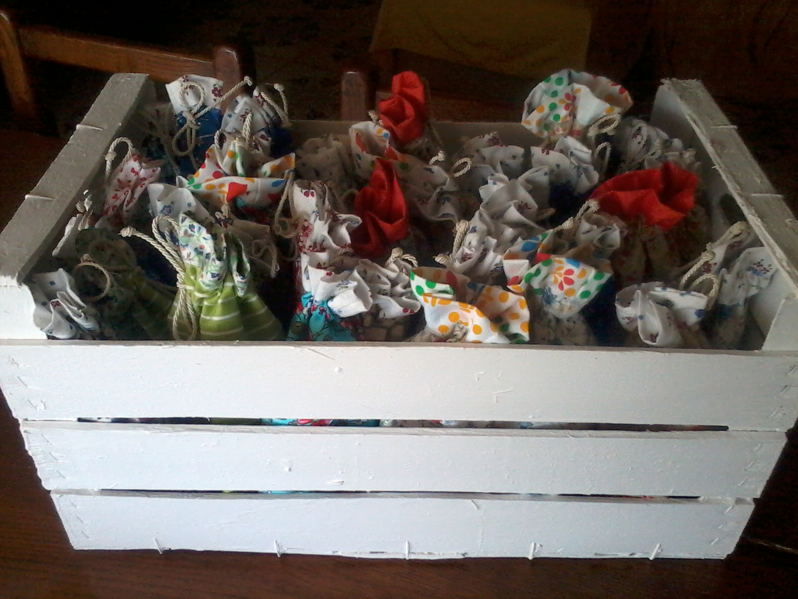 spesso Kaire artigianato: Ecco ho finito le bomboniere. QT02