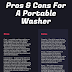 Pros & Cons of Buying A Portable Washer